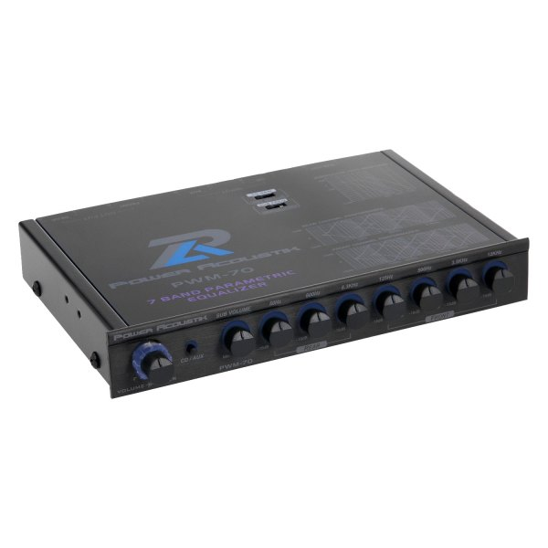Power Acoustik® - 7-Band Parametric Equalizer