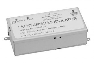 Power Acoustik® - 3-Step FM Modulator