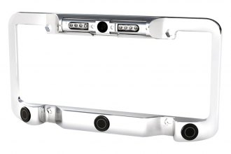 Power Acoustik® - License Plate Frame with Night Vision Camera