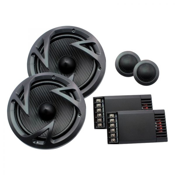 "Power Acoustik® - 6-1/2"" 2-Way Edge Series 500W Component Speaker System"