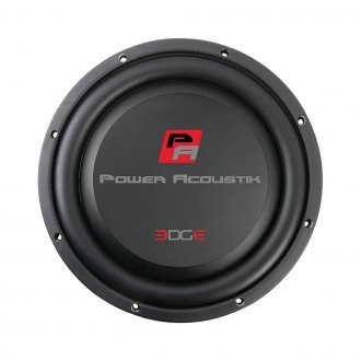 "Power Acoustik® - 12"" Edge Shallow Series 1400W 4-ohm SVC Subwoofer"