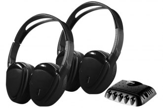 Power Acoustik® - Wireless IR Headphones with Swivel Ear Pads