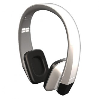 Power Acoustik® - 2-Channel Wireless IR Snow White Headphones