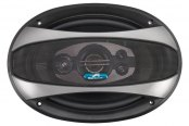 "Power Acoustik® - Crypt Series 6"" x 9"" 4-Way Coaxial 380W Speaker"
