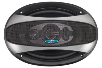 "Power Acoustik® - 6"" x 9"" 4-Way Crypt Series Coaxial 380W Speaker"