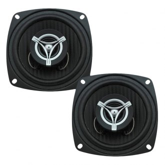 "Power Acoustik® - 4"" 2-Way Edge Series 250W Coaxial Speakers"