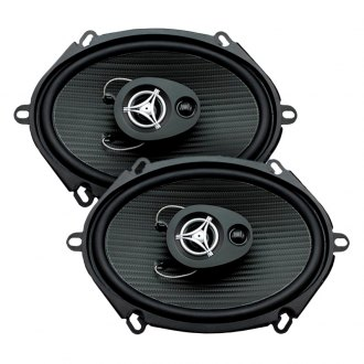 "Power Acoustik® - 5"" x 7"" 3-Way Edge Series 200W Coaxial Speakers"