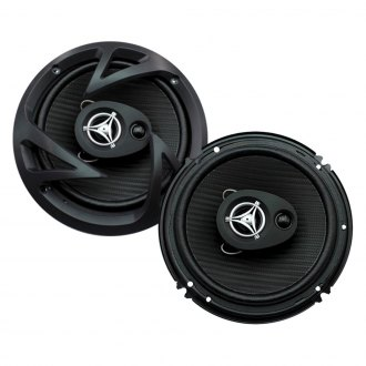"Power Acoustik® - 6-1/2"" 3-Way Edge Series 190W Coaxial Speakers"