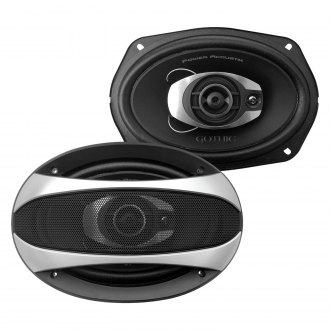 "Power Acoustik® - 6"" x 9"" 3-Way Gothic Series 500W Coaxial Speakers"