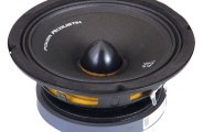 Power Acoustik® - Midbass Series Mid-Range 4 Ohm Speaker