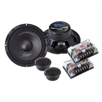 "Power Acoustik® - 6-1/2"" 2-Way Reaper Series 250W Component Speaker System"