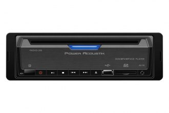 Power Acoustik® - Single DIN DVD Receiver with 32GB SD/USB Playback