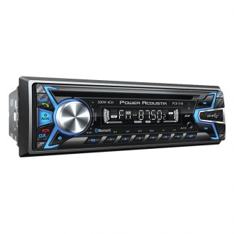 Power Acoustik® - Single DIN CD/AM/FM/MP3/WMA Receiver with Built-In Bluetooth