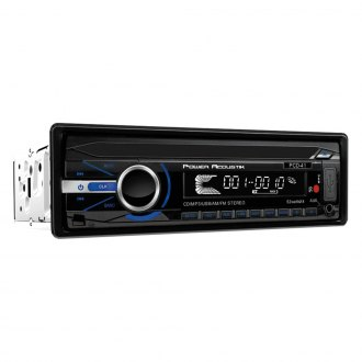 Power Acoustik® - Single DIN CD/AM/FM/MP3/WMA Receiver with 32GB USB Playback