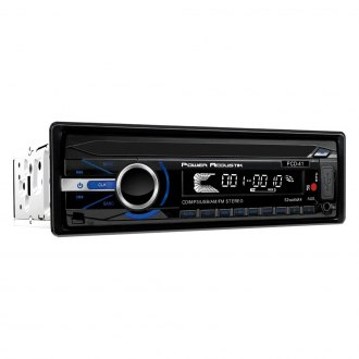 Power Acoustik® - Single DIN CD/AM/FM/MP3/WMA Receiver with 32GB USB Playback with Bluetooth