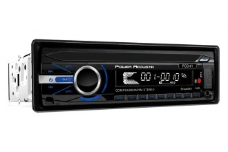 Power Acoustik® - Single DIN CD/MP3/AM/FM Receiver with 32GB USB Playback with Bluetooth