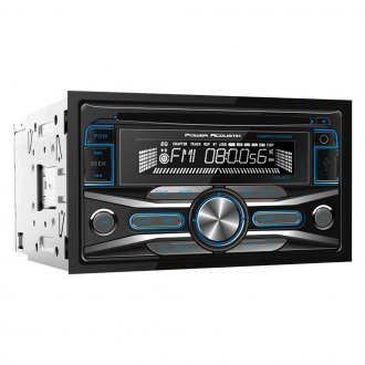 Power Acoustik® - Double DIN CD/AM/FM/MP3 Receiver with 32GB USB Playback