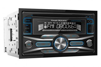 Power Acoustik® - Double DIN CD/MP3/AM/FM Receiver with 32GB USB Playback