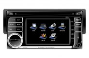 "Power Acoustik® - Single DIN Stereo Receiver with Detachable 4.5"" Touch Screen"