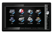 Power Acoustik® - Double DIN Stereo Receiver with Motorized 6.5'' Touch Screen