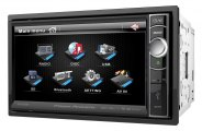 "Power Acoustik® - Double DIN Stereo Receiver with Motorized 6.5"" Touch Screen"