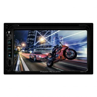 "Power Acoustik® - Double DIN DVD/CD/AM/FM/MP3/MP4 Stereo Receiver with 6.5"" LCD Display"