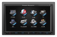 "Power Acoustik® - Double DIN Stereo Receiver with 7"" Touch Screen"