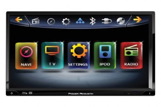"Power Acoustik® - Double DIN Inteq Stereo Receiver with Detachable 7"" Screen, Navigation Ready with Bluetooth"
