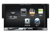 "Power Acoustik® - Single DIN Mechless Stereo Receiver with Detachable 7"" HD Touch Screen"