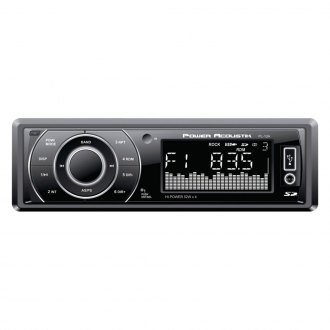 Power Acoustik® - Single DIN USB/SD/AUX/AM/FM Media Receiver