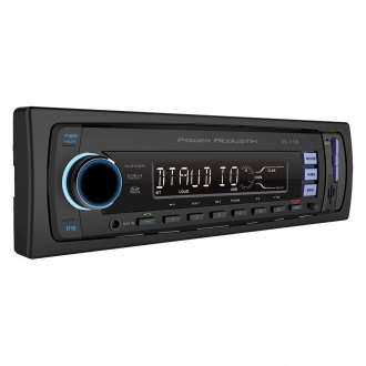 Power Acoustik® - Single DIN AM/FM/MP3/WMA Media Receiver with Built-In Bluetooth