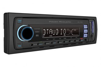 Power Acoustik® - Single DIN USB/SD/AUX/AM/FM Media Receiver with Bluetooth
