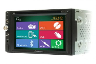 "Power Acoustik® - Double DIN DVD/MP3/CD/USB/SD Receiver with 6.2"" LCD Monitor and Bluetooth"