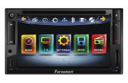 Power Acoustik® - Farenheit 6.5'' Double-DIN Motorized Source Unit