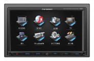Power Acoustik® - Farenheit 7'' Double DIN Receiver Bluetooth Touchscreen  USB/SD 3.5 Aux.