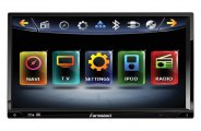 Power Acoustik® - Farenheit 7'' Double-DIN Motorized Source Unit