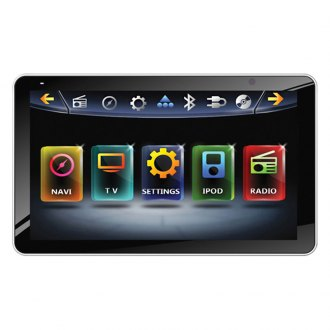 "Power Acoustik® - Single DINAM/FM/DVD/MP3/USB/SD Farenheit Motorized Source Unit with 9.3"" Screen"
