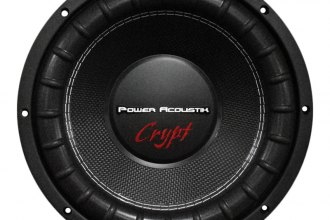 "Power Acoustik® - Crypt Series 10"" DVC 4 Ohm 1800W Subwoofer"