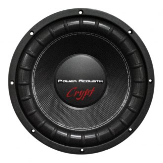 "Power Acoustik® - 12"" Crypt Series 2000W 4 Ohm DVC Subwoofer"