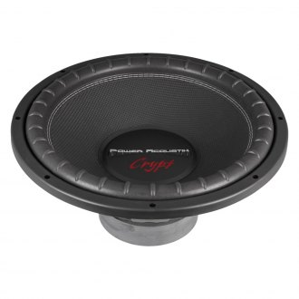 "Power Acoustik® - 15"" Crypt Series 2200W 4 Ohm DVC Subwoofer"