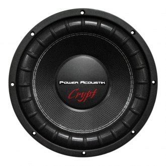 "Power Acoustik® - 15"" Crypt Series DVC 4 Ohm 2200W Subwoofer"