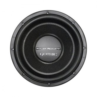 "Power Acoustik® - 15"" Gothic Series DVC 2 Ohm 3000W Subwoofer"