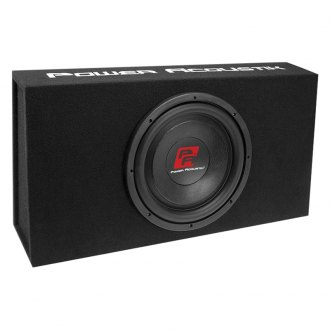"Power Acoustik® - 12"" THIN Series Low Profile Sealed Powered 1200W Subwoofer Enclosure"