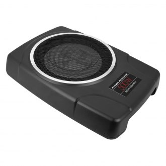 "Power Acoustik® - 8"" THIN Series Low Profile Sealed Powered 500W Subwoofer Enclosure"