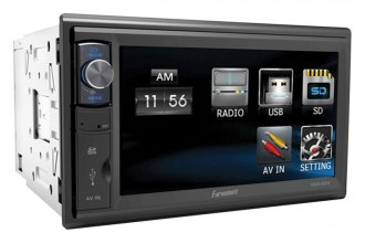 "Power Acoustik® - Double DIN Farenheit MP3/AM/FM Receiver with 6.5"" LCD Touchscreen"