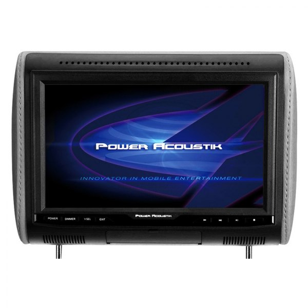 "Power Acoustik® - Headrest with 10.3"" 1080p Digital Media Monitor with HDMI"