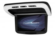 Power Acoustik® - Flip Down LCD Monitor with Built-In DVD Player
