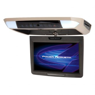 "Power Acoustik® - 11.2"" Flip Down LCD Monitor with Built-In DVD Player and 3 Housing Options"