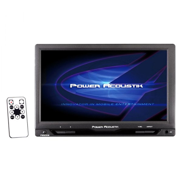 "Power Acoustik® - 7"" Dual Channel IR Headrest LCD Monitor"