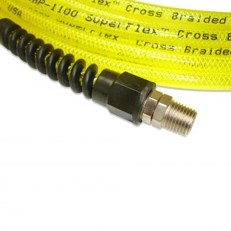 Power Tank® - 1/4 Npt Hose Fitting With Spiral Bend Restrictor